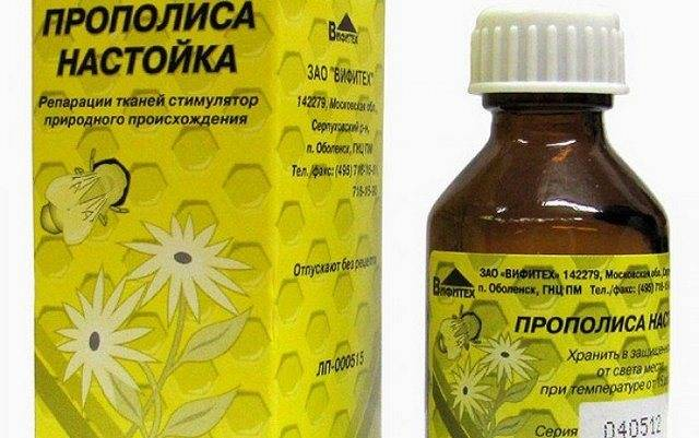 Лечение настойкой прополиса, рецепты её приготовления, применение и противопоказания