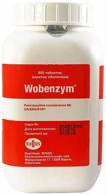 Препарат «вобэнзим»