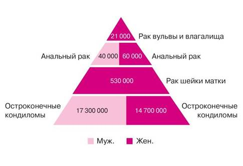 Как проявляется впч 51 типа у мужчин и женщин