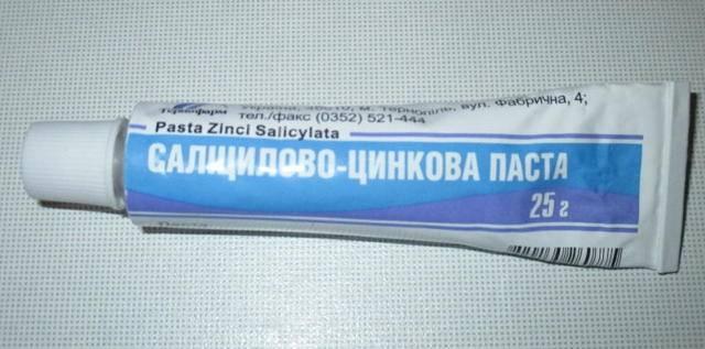Мазь салицилово-цинковая: инструкция по применению, описание, состав и показания