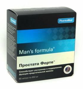 Простата форте от простатита