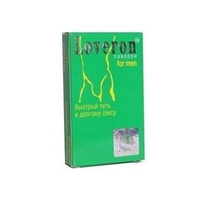 Состав и действие возбуждающего препарата лаверон для мужчин