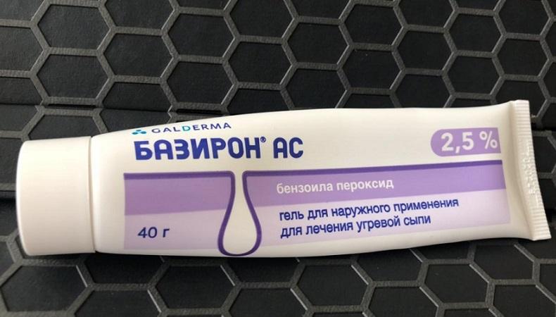 Базирон ас — эффективное средство для борьбы с прыщами