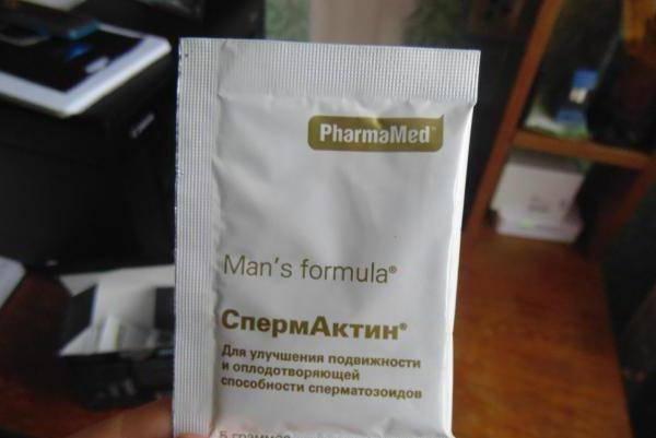 Спермактин и алкоголь