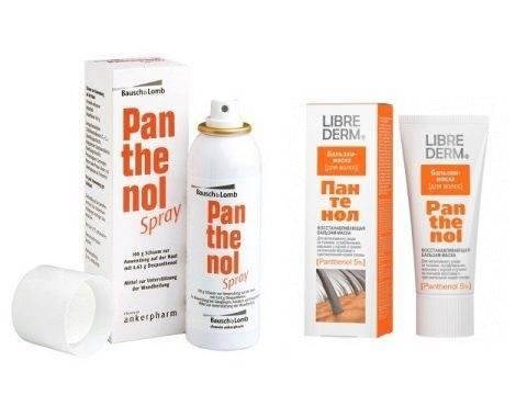 Спрей пантенол от ожогов: инструкция по применению