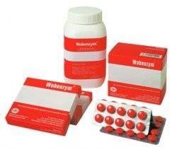 Таблетки вобэнзим: действие и показания к применению