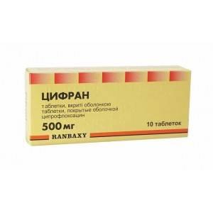 Инструкция по применению таблеток цифран ст 500 + цена в аптеках + отзывы