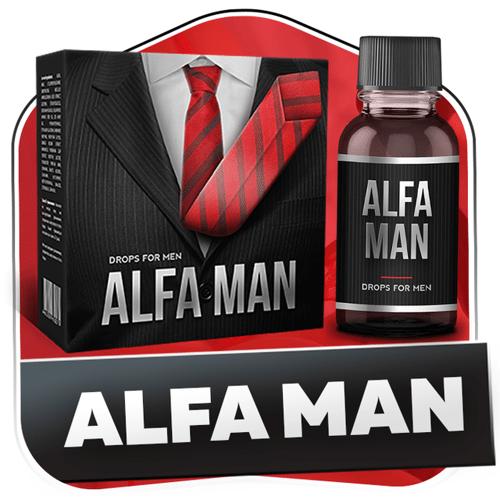 Капли alfa man для потенции