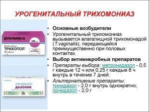 Трихомониаз у мужчин: симптомы, лечение, осложнения