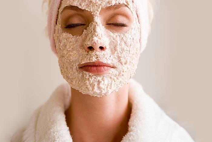 Польза овсянки для кожи лица и рецепты на её основе