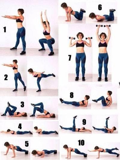 Тренировка для начинающих в домашних условиях для похудения: подборка упражнений + готовый план