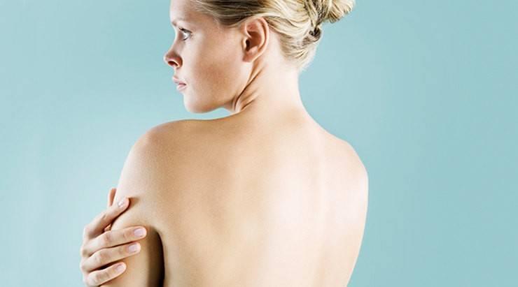 Прыщи и сыпь на спине после массажа