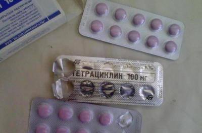 Инструкция по применению и противопоказания таблеток «тетрациклин» и побочные действия антибиотика