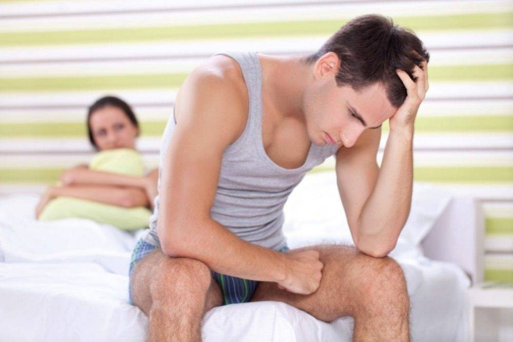Преждевременное семяизвержение у мужчин
