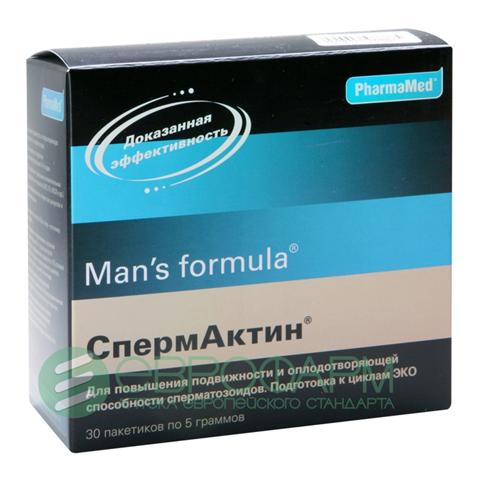 Спермактин - показания, инструкция по применению, побочные эффекты, отзывы. спермактин: инструкция по применению, состав и дозировка