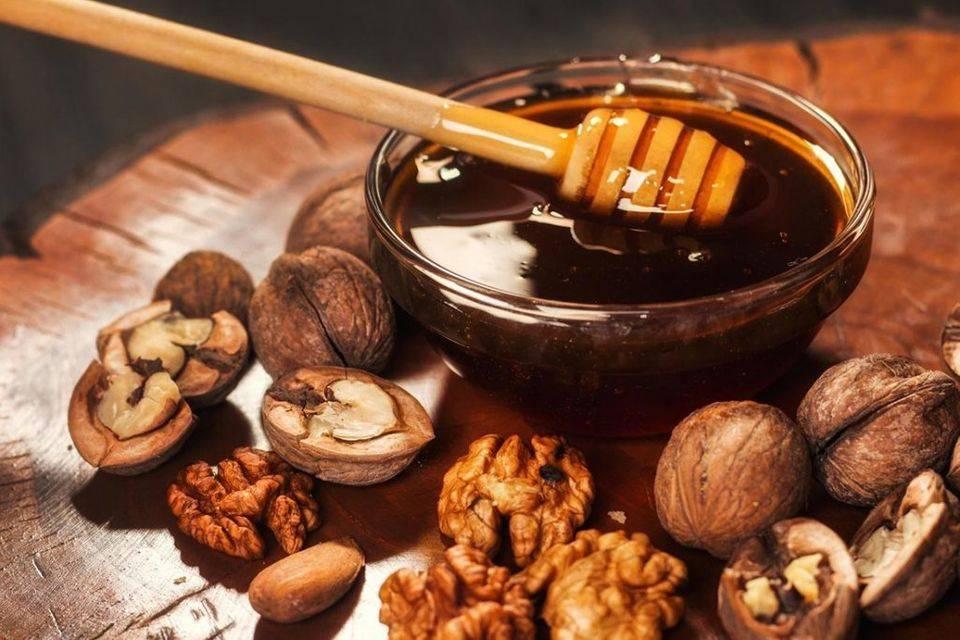 Грецкие орехи с медом: рецепт для повышения потенции у мужчин, польза и вред средства, способ приготовления и приема