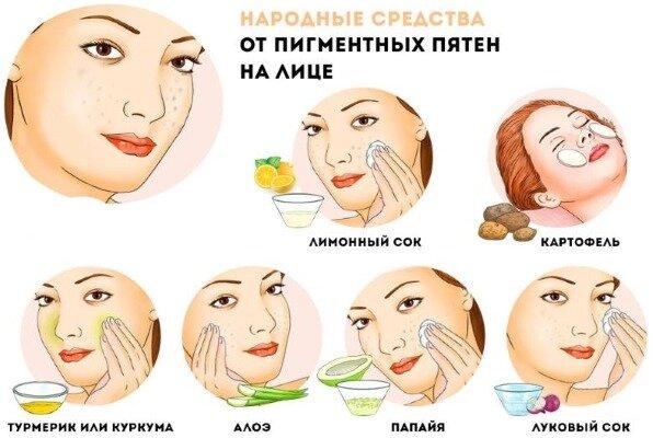 Боремся за красоту: как убрать пигментные пятна на лице