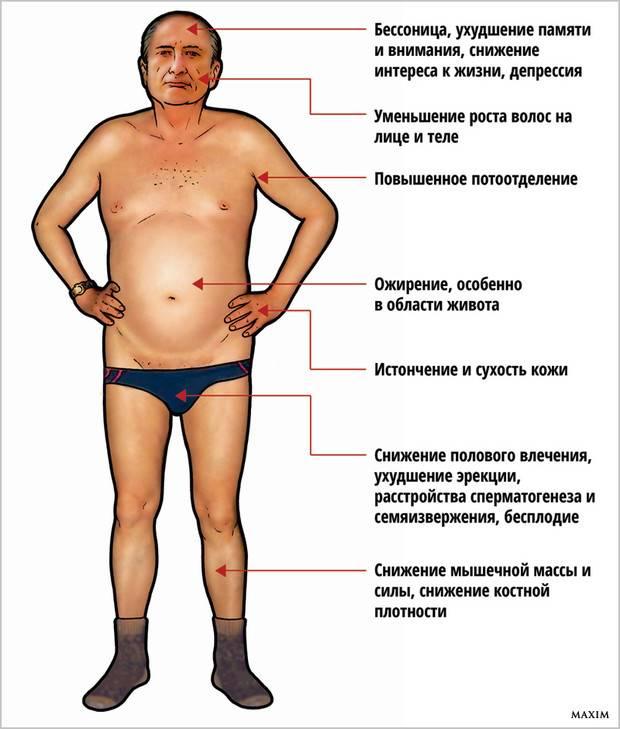 Низкий тестостерон у мужчин — симптомы, лечение. признаки низкого тестостерона у мужчин