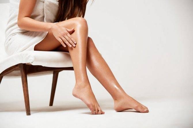 Черные точки на ногах как избавиться