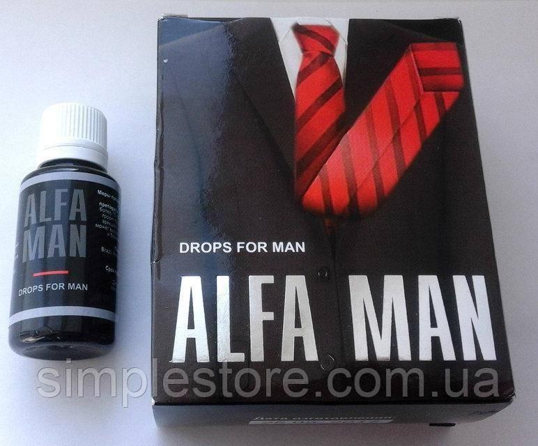 Alfa man: капли для потенции – развод или правда?