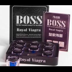 Босс роял виагра: состав препарата, форма выпуска, эффективность и показания к применению