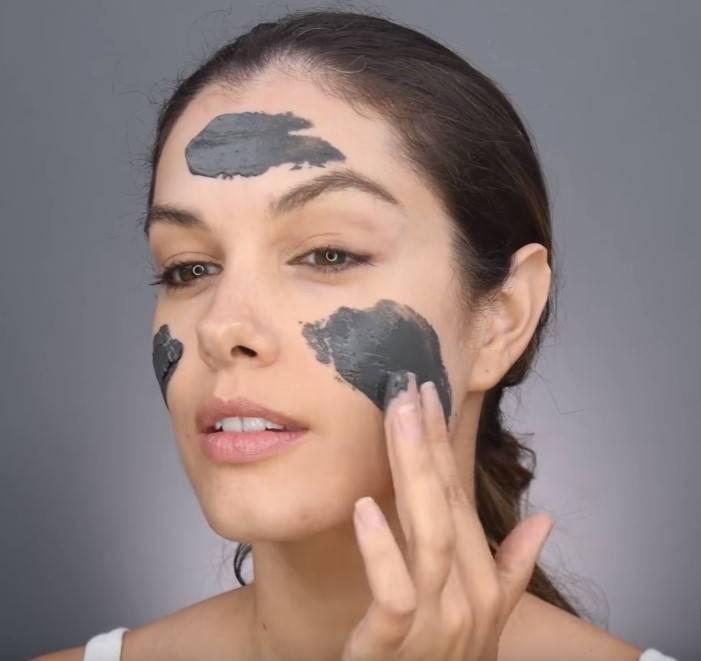 Огуречная маска для лица от прыщей