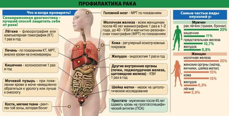 Рак предстательной железы: симптоматика, методы профилактики и лечения мужчин