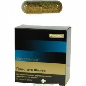 Простата форте – препарат для лечения простатита