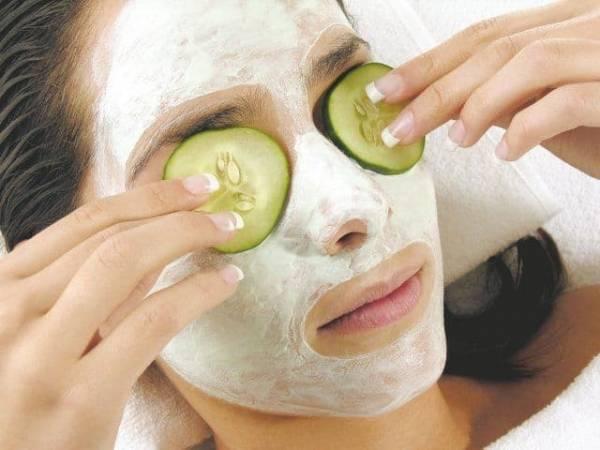 Полезные огуречные маски для кожи лица