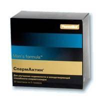 Спермактин: инструкция по применению и отзывы