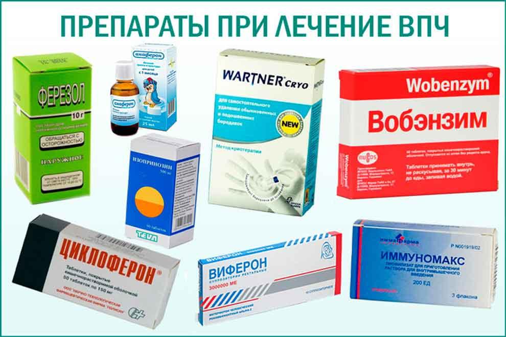 Виды и формы лекарственных препаратов для лечения впч у мужчин