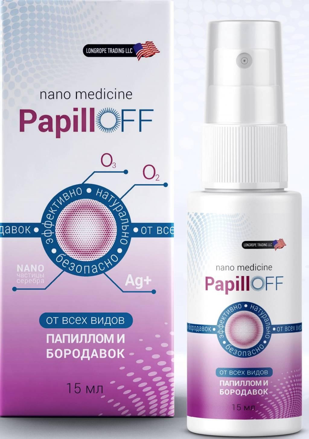 Препарат papilloff от папиллом