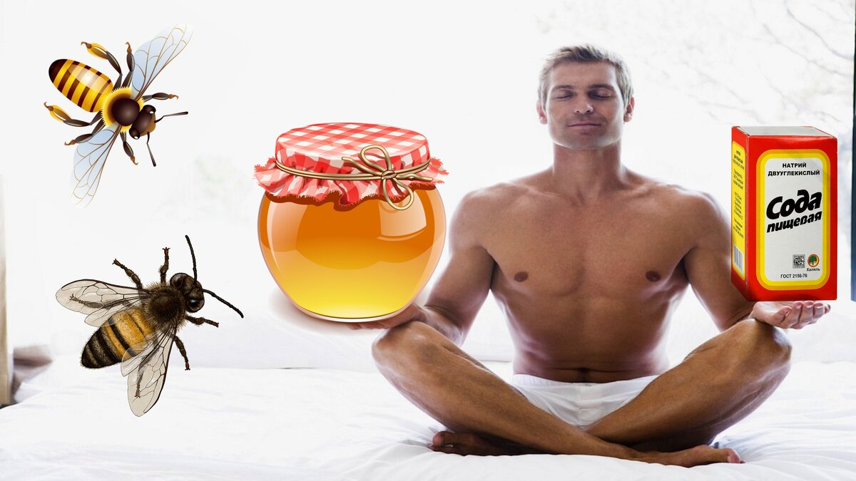 Мед и грецкие орехи для мужской потенции