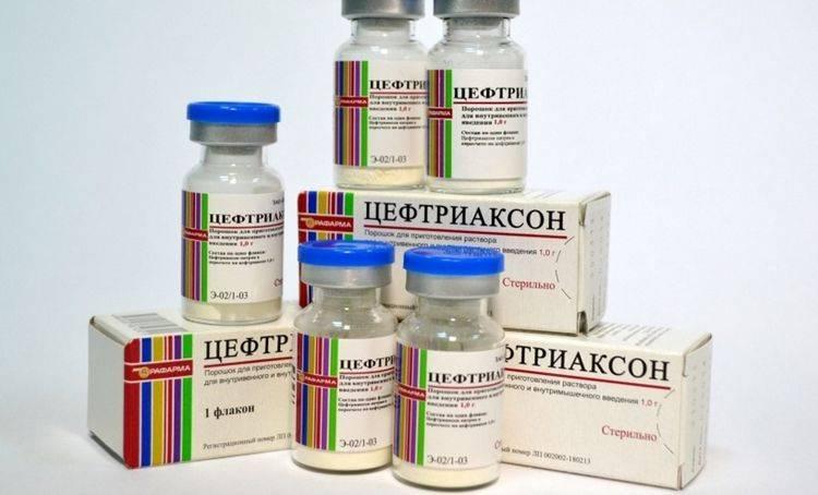 Лечение хламидиоза цефтриаксоном