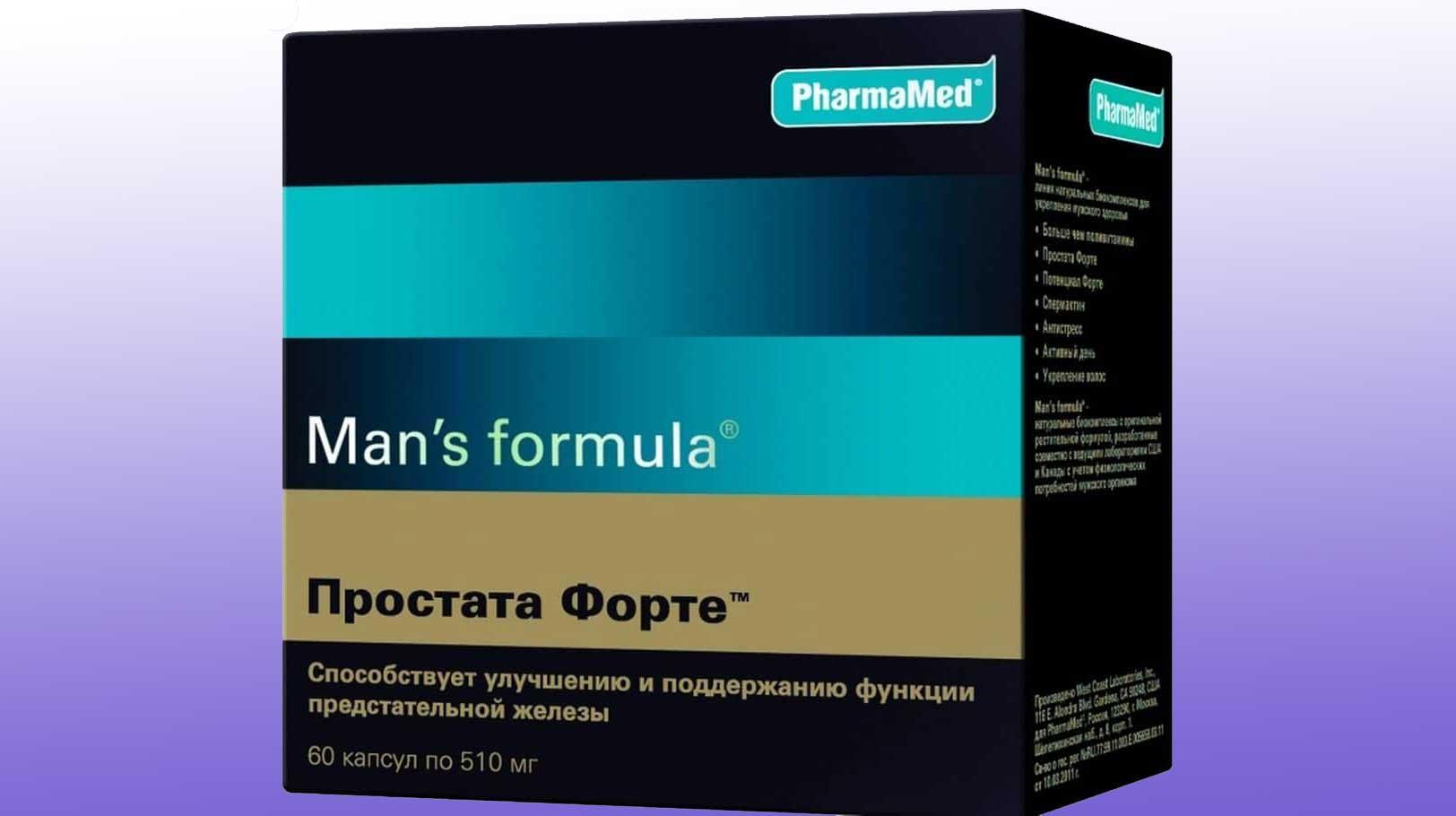 Man's formula простата форте отзывы