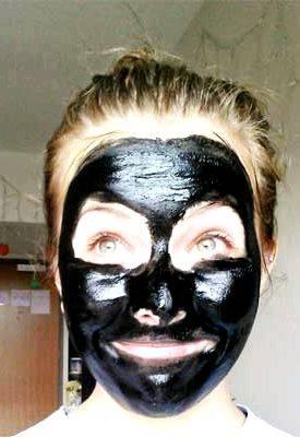 Маска из угля и желатина: полезна для кожи лица