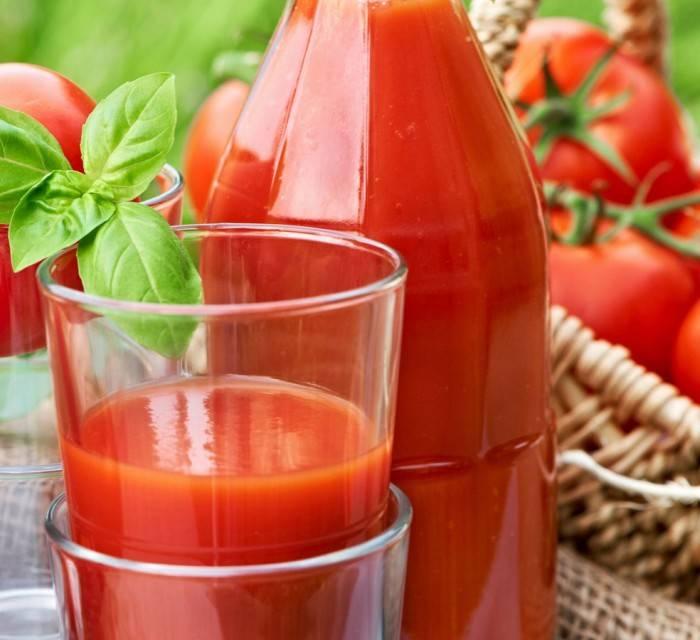 Томатный сок для похудения