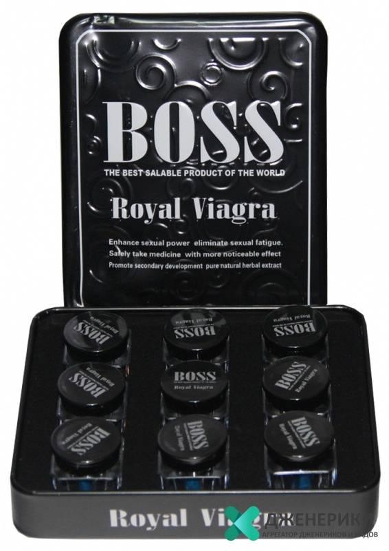 Препарат для потенции босс роял виагра